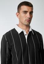 Superbalist - Rugby jersey - black & white