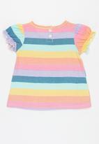 POP CANDY - Girls stripe tee - multi
