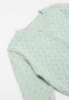POP CANDY - Girls cardigan - green