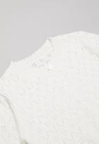 POP CANDY - Girls cardigan - white