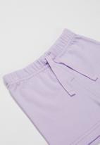 POP CANDY - Girls elastic waist shorts - purple
