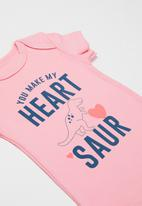 POP CANDY - 3 Pack printed body vests - pink