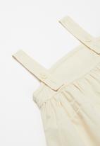 POP CANDY - Dress with braces - stone