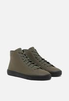 Diesel  - S-mydori mc sneakers - olive night