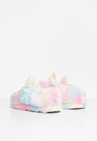 Rebel Republic - Girls chunky slippers - multi