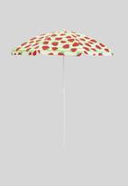 H&S - Beach umbrella - strawberry