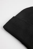 Superbalist - Cuffed beanie - black
