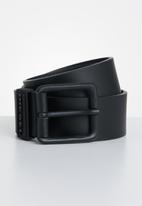 Diesel  - B-rublo leather belt - black