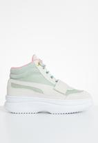 PUMA - Deva boot suede wn's - vaporous grey-aqua grey