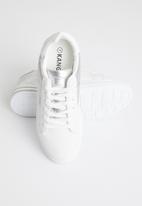 KANGOL - Stella sneaker - white & silver