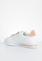 KANGOL - Prasa sneaker - white & pink