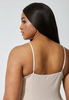 Superbalist - Ponti corset cami - nude