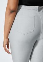 Superbalist - Stretch twill trousers - grey