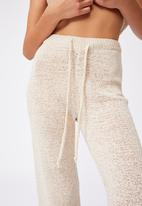 Cotton On - Summer lounge pant - natural