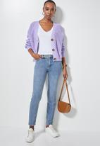 Superbalist - Knit crop cardigan - lilac