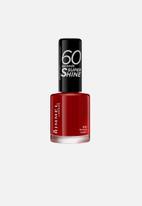 Rimmel - 60 Seconds Nail Polish - Rapid Ruby