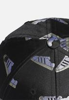 adidas Originals - Super baseball cap - black & white