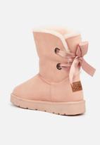 Miss Black - Rae 2 slipper boot - pink