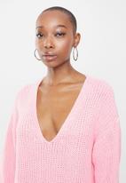 Glamorous - Pearl dress - pale pink