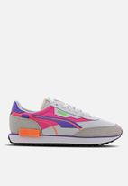 PUMA - Future Rider Twofold sd - puma white-luminous purple