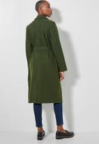 Superbalist - Belted coat - khaki