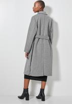 Superbalist - Belted coat - grey