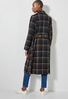 Superbalist - Belted coat - multi
