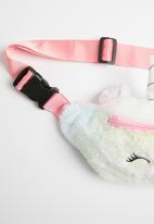 POP CANDY - Girls faux fur unicorn waist bag - multi