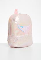 POP CANDY - Girls metallic mermaid backpack - pink