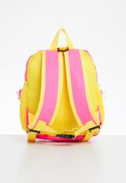 POP CANDY - Dino backpack - pink & yellow