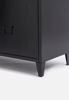 Basics - Matapouri side board - black