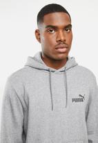 PUMA - Ess hoody fl - medium gray heather