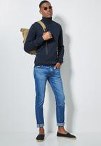Superbalist - Basic roll neck slim fit knit - navy