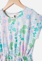 Cotton On - Sigrid short sleeve dress - multi