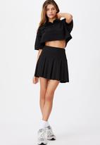 Factorie - Tennis skirt - black