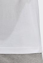 adidas Originals - Circle trefoil T-shirt - white