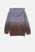 Cotton On - License hoodie - grey & brown