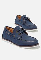 Cotton On - Classic boat shoe - navy