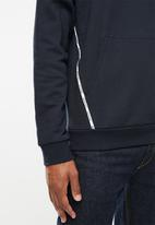 Tommy Hilfiger - Piping fleece hoody - navy