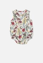 Cotton On - Lena singlet bubbysuit - multi