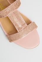 Seduction - Glitter slide - pink