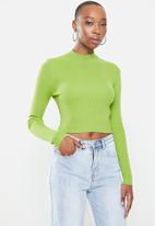 Glamorous - High neck knit - green