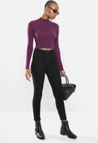 Glamorous - High neck knit - purple