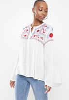Glamorous - Iona top - white