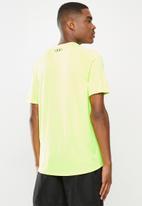 Under Armour - UA tech short sleeve tee - neon green