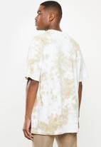 Factorie - Relaxed tie dye T-shirt - sand sky tie dye