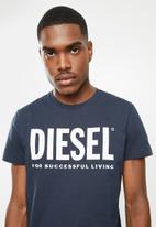Diesel  - Diego logo short sleeve tee - navy