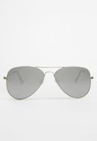 Rebel Republic - Aviator sunglasses - silver