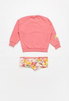 adidas Originals - Crew set - pink