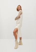 MANGO - Dress tommy - light beige
